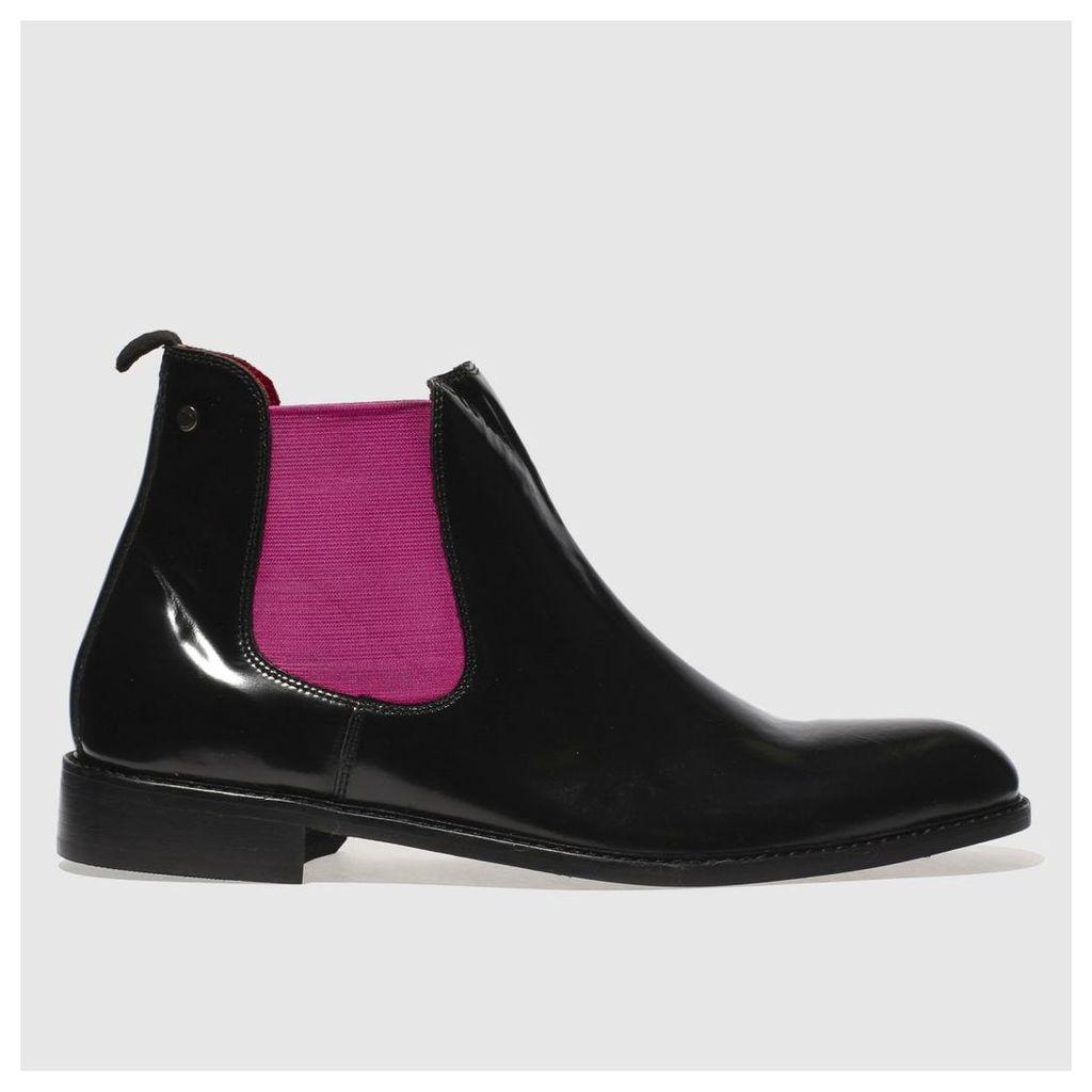 Base London schwarz & Pink Truman Pop Stiefel by Snap Base London   Snap by ... 2ba24f