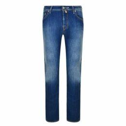 Jacob Cohen Pocket Detail Slim Jeans