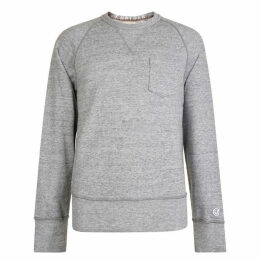 Champion Pocket Crew Neck Sweatshirt