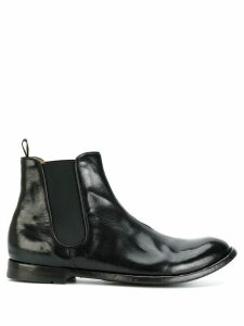Officine Creative chelsea boots - Black