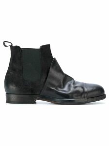 Ink contrast chelsea boots - Black