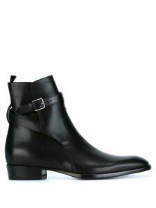 Saint Laurent 'Wyatt' ankle boots - Black