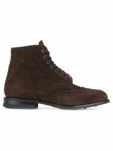Church's classic lace-up boots - Brown