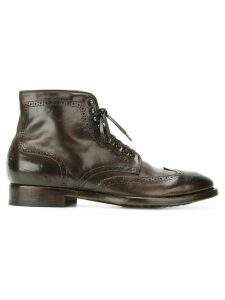 Officine Creative Princeton 036 brogue boots - Brown