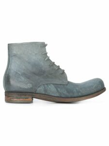 A Diciannoveventitre lace-up boots - Grey