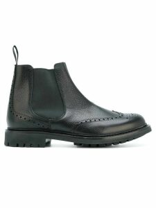 Church's brogue detail Chelsea boots - Black