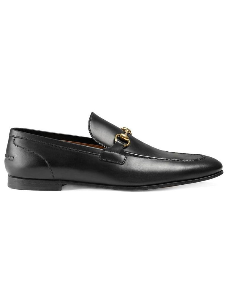 Gucci Gucci Jordaan leather loafer - Black