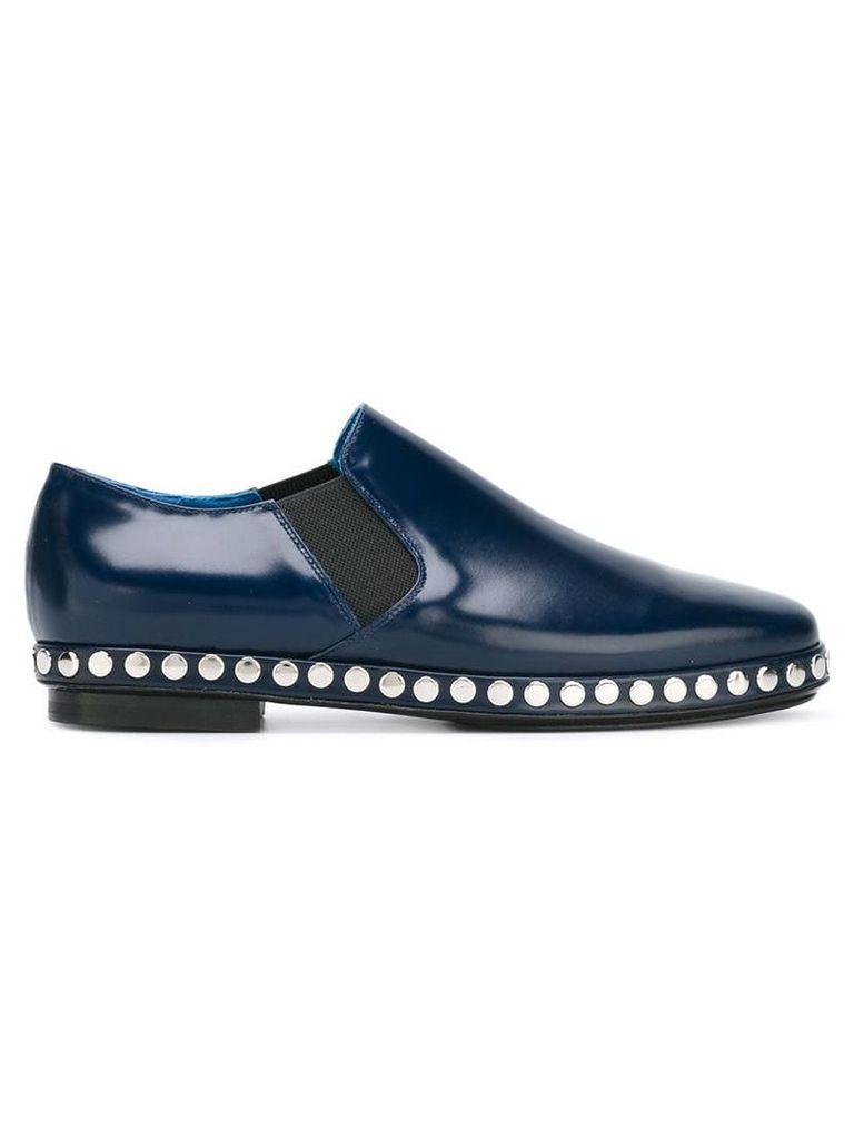 Kenzo studded slip-on shoes - Blue