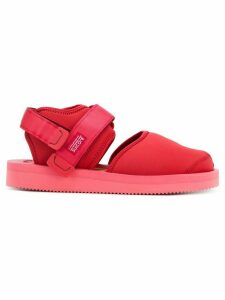 Suicoke closed toe sandals - Red