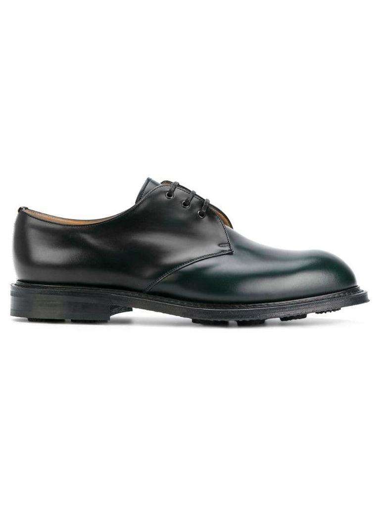 Church's classic derby shoes - Green