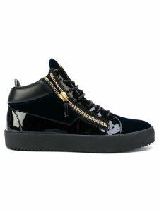 Giuseppe Zanotti Kriss hi-top sneakers - Blue