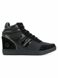 Versace Jeans Couture concealed wedge sneakers - Black