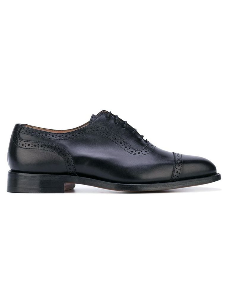 Trickers classic oxford shoes - Black