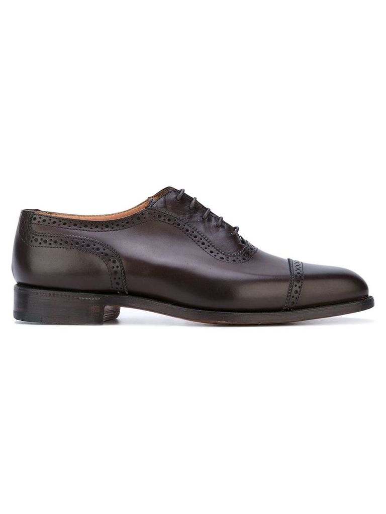 Trickers classic oxford shoes - Brown