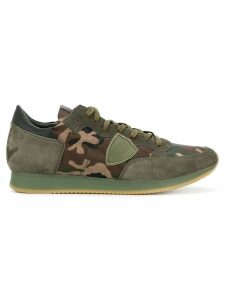 Philippe Model Tropez camouflage sneakers - Green