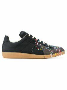 Maison Margiela Replica paint-splatter sneakers - Black