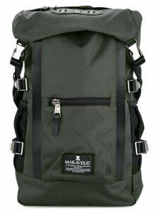 Makavelic double line backpack - Grey