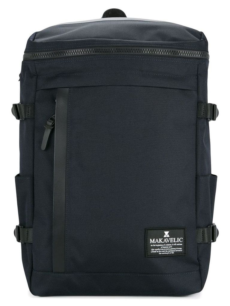 Makavelic rectangle daypack - Blue