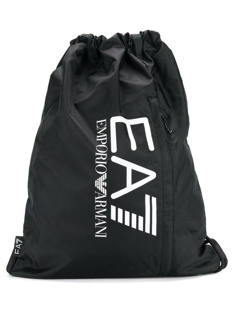 79360eb91fad Ea7 Emporio Armani drawstring logo backpack - Black by Ea7 Emporio ...