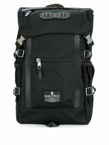 Makavelic double line backpack - Blue