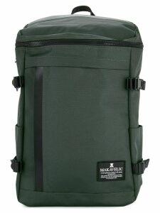 Makavelic rectangle daypack - Grey