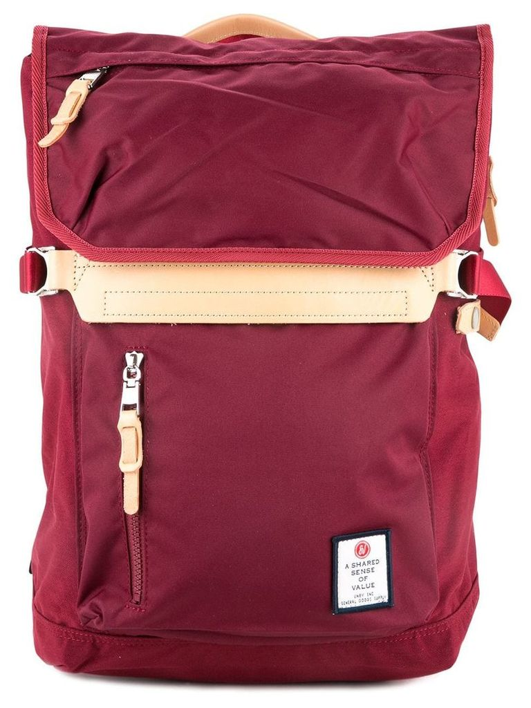 As2ov Hidensity Cordura nylon backpack A-02 - Red