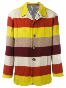 Jean Paul Gaultier Pre-Owned striped jacket - Yellow