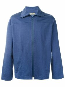 Romeo Gigli Pre-Owned zipped track jacket - Blue