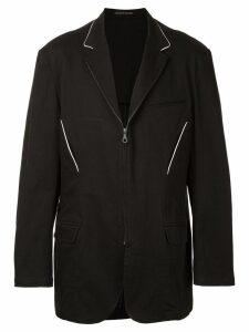 Yohji Yamamoto Pre-Owned zipped jacket - Black