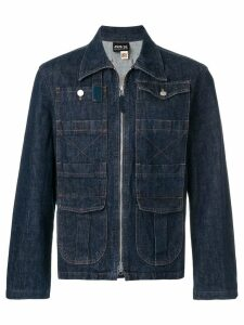 Jean Paul Gaultier Pre-Owned zip-through denim jacket - Blue