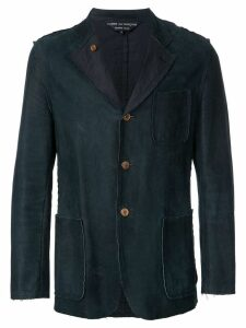 Comme Des Garçons Pre-Owned wax jacket - Green