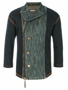Jean Paul Gaultier Pre-Owned denim panel jacket - Blue
