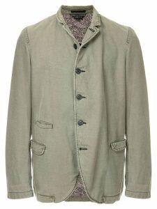 Comme Des Garçons Pre-Owned flap pockets jacket - Green