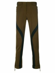 Jean Paul Gaultier Pre-Owned military trousers - Brown