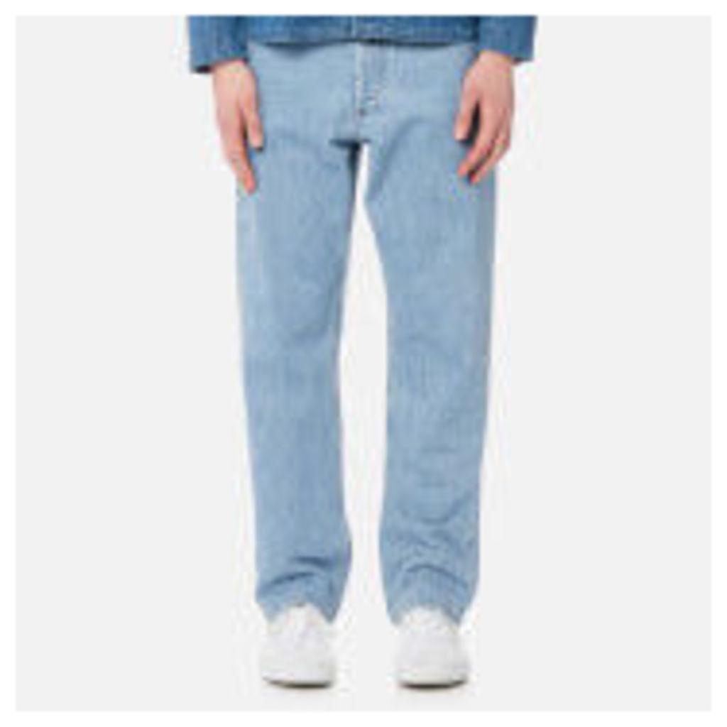 A.P.C. Men's Standard Jeans - Selvedge Indigo Delave - W32 - Blue