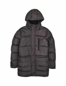 Mens Brave Soul Grey Oakwell Puffer Jacket*, Black