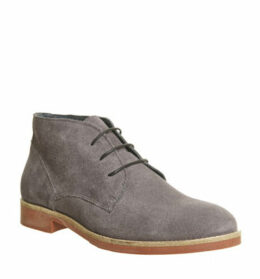 Ask the Missus Denver Chukka GREY SUEDE BRICK SOLE
