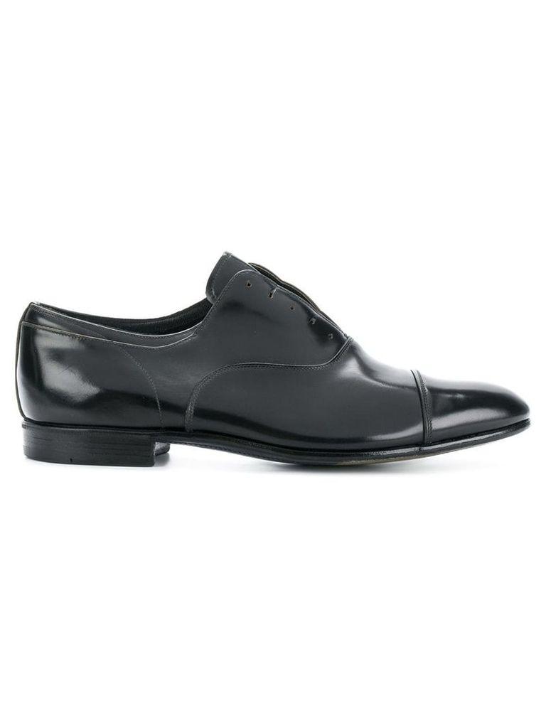 Premiata varnished laceless loafers - Blue