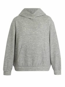 Raey - Hooded Cashmere Blend Sweatshirt - Mens - Grey