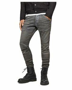 5620 3D Knee Zip Super Slim in Loomer Gray