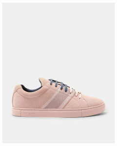 Ted Baker Suede cupsole trainers Pink