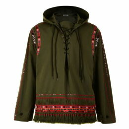 Valentino Over The Head Embellished Anorak