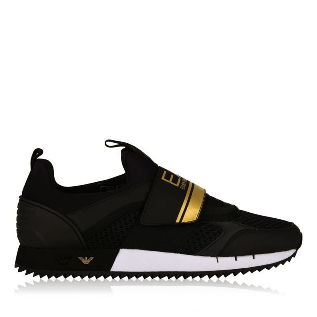 0af11e0071b9 ARMANI JEANS Velcro Runner Trainers by Armani Jeans