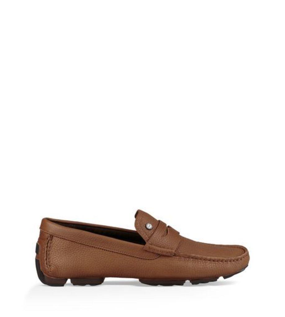 15bbfe834a6 UGG Bel-Air Penny Slip-On Driver Mens Shoes Chestnut 7 by Ugg | Snap ...