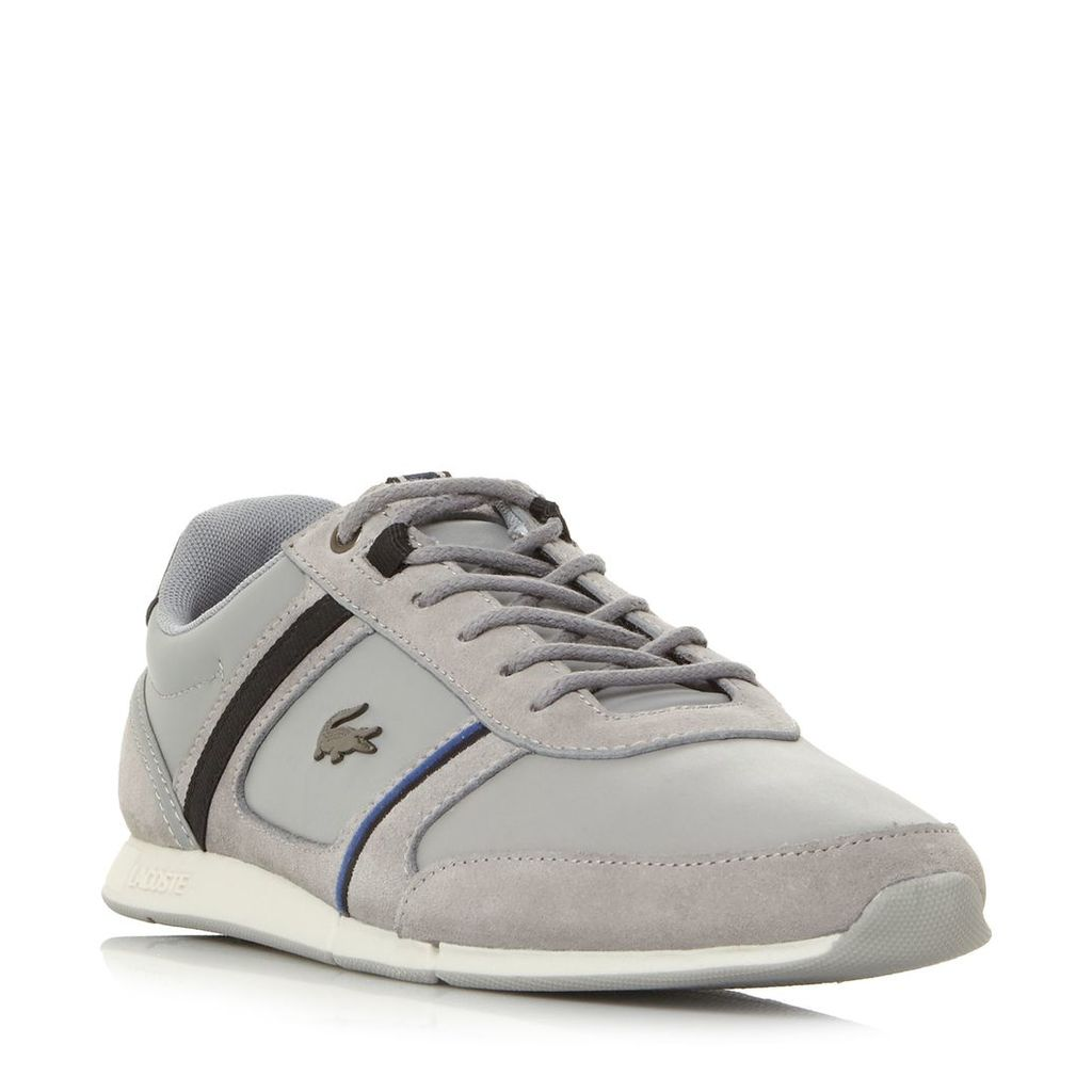 1bdedba72 Lacoste Menerva Leather And Suede Trainers