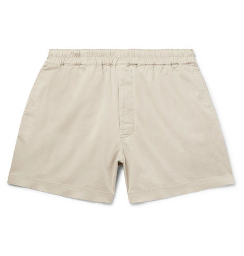 5077789eef Alvin Stretch-cotton Twill Drawstring Shorts by Acne Studios | Snap ...