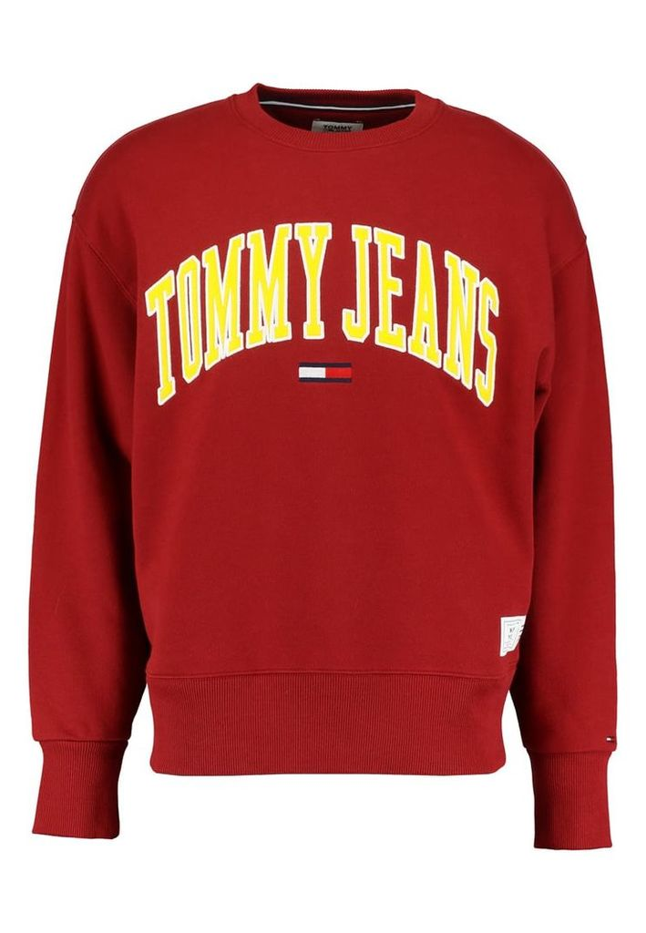 edcb1036 Tommy Jeans COLLEGIATE Sweatshirt merlot by Tommy Jeans | Snap ...