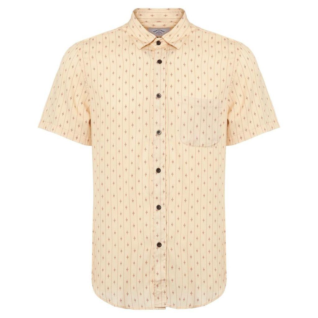 878204f83 Cream El Dorado Short Sleeve Shirt by Portuguese Flannel