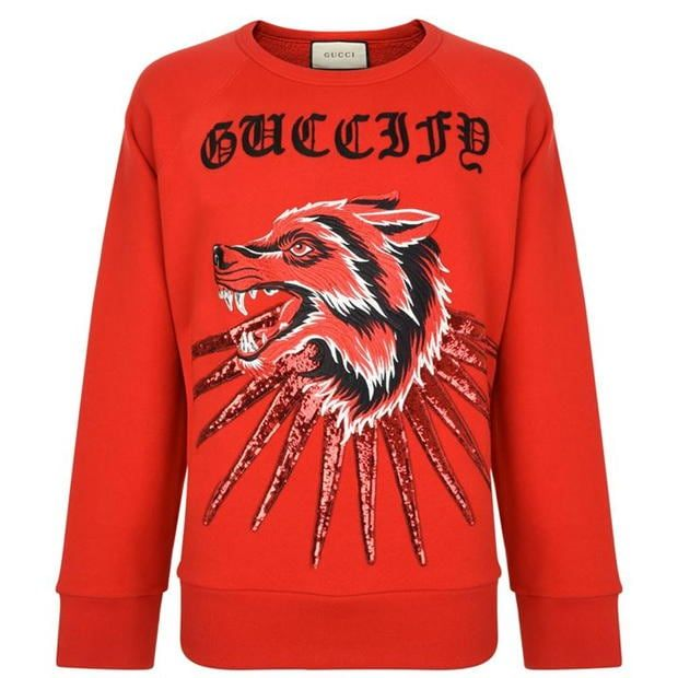 GUCCI Wolf Ray Sweatshirt
