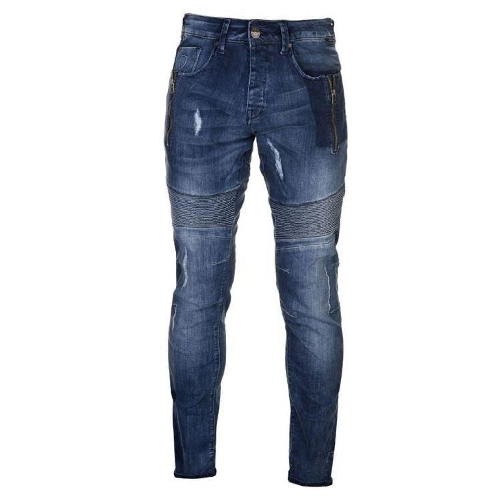 883 Police Cassady Ben 429 Jeans - Mid Blue Ben429